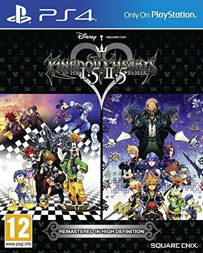 Joc PS4 Kingdom Hearts HD 1.5 and 2.5 Remix