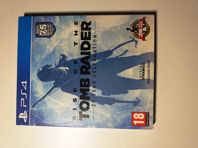 Joc PS4 Rise Of The Tomb Raider 20 Year Celebration Special Edition